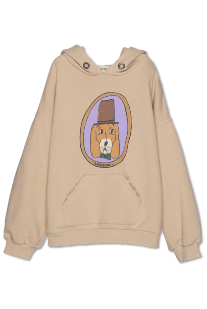 Doggy Hoodie - almond