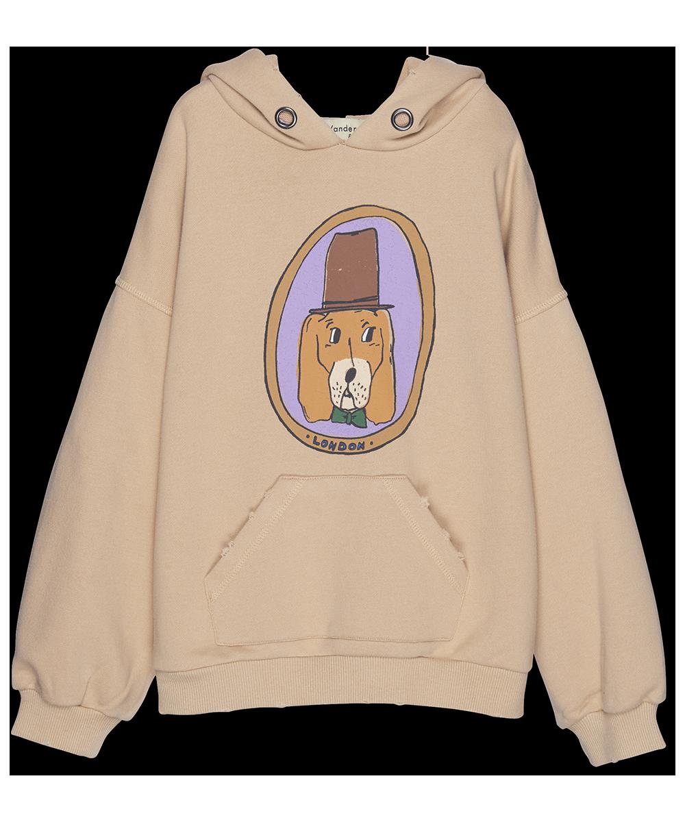 Doggy Hoodie - almond-1