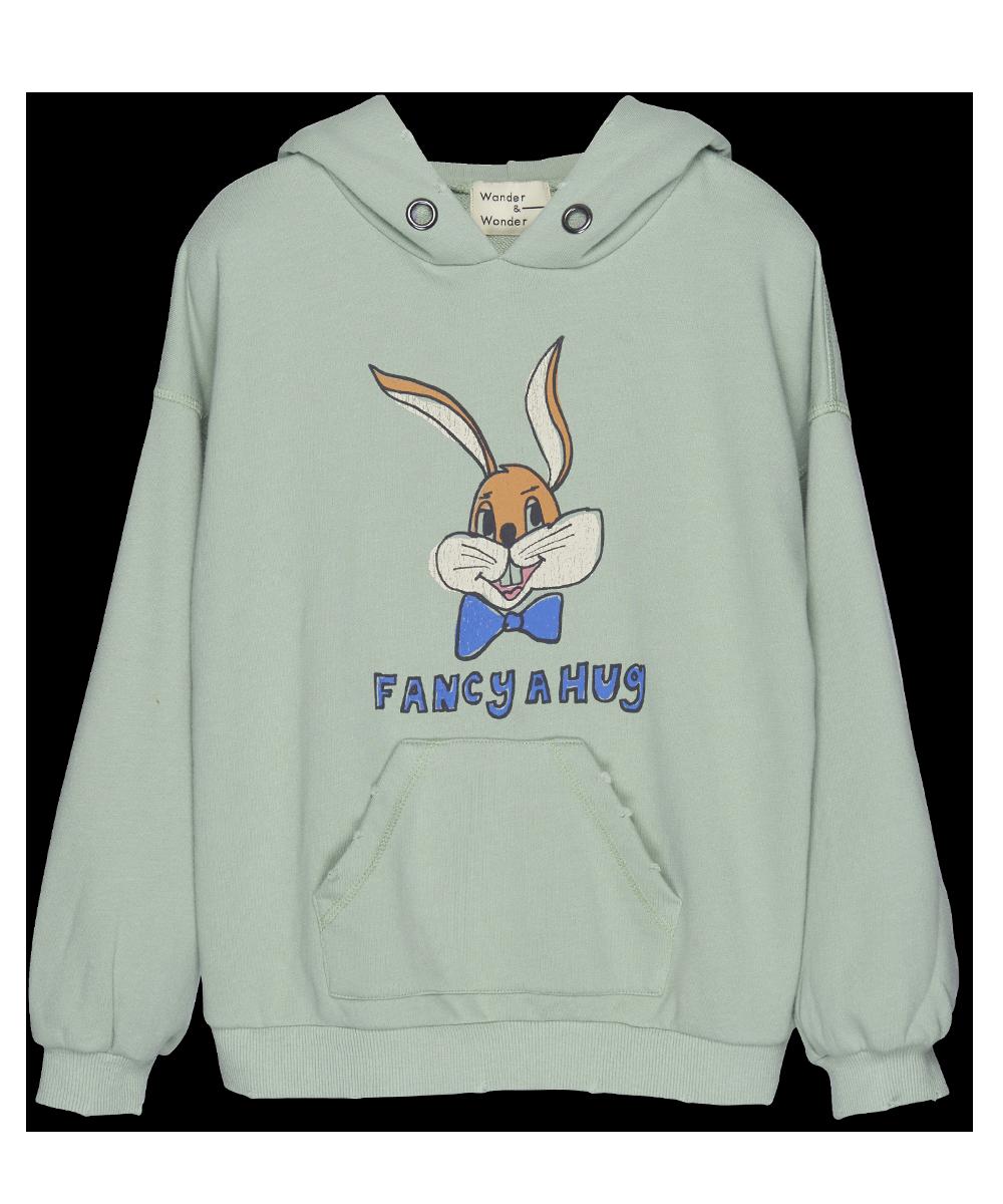 Bunny Hoodie - mint-1