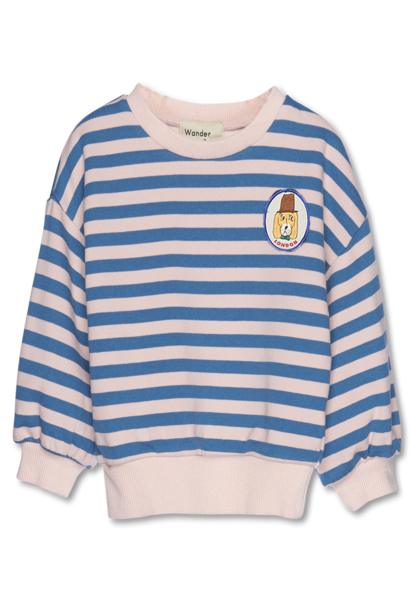 Stripe Sweatshirt p pink stripe