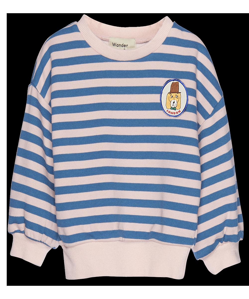 Stripe Sweatshirt p pink stripe-1