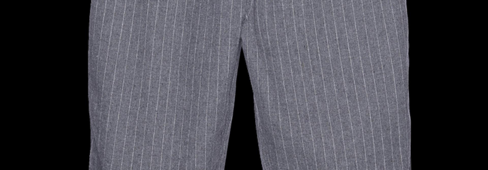 Drawstring Pants - grey stripe