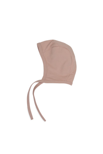 Baby bonnet - Vintage blush