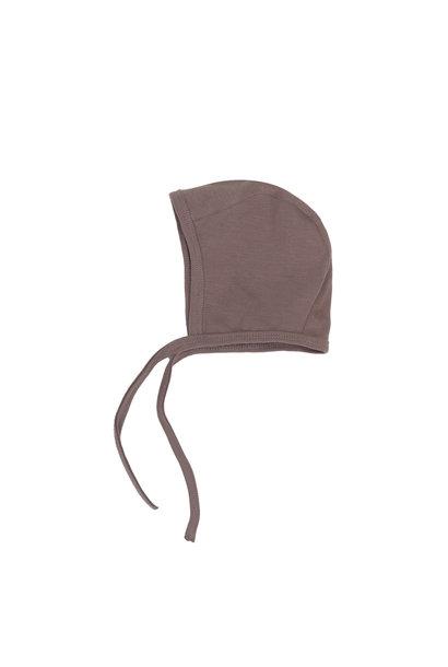 Baby bonnet - heather