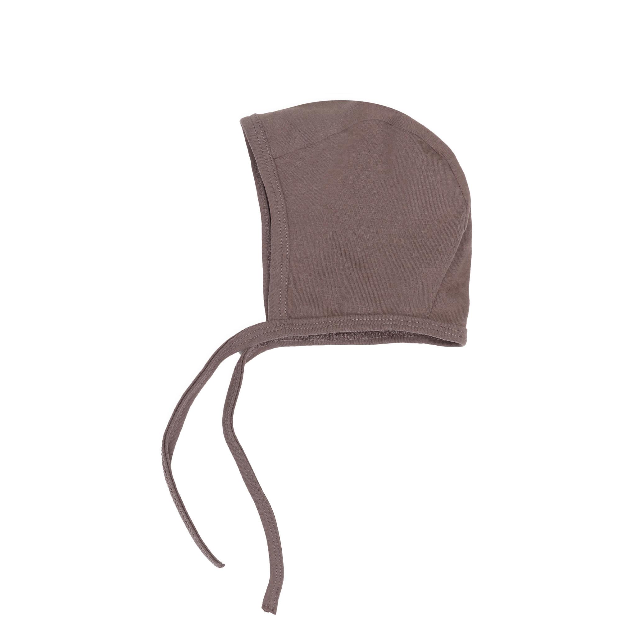 Baby bonnet - heather-1