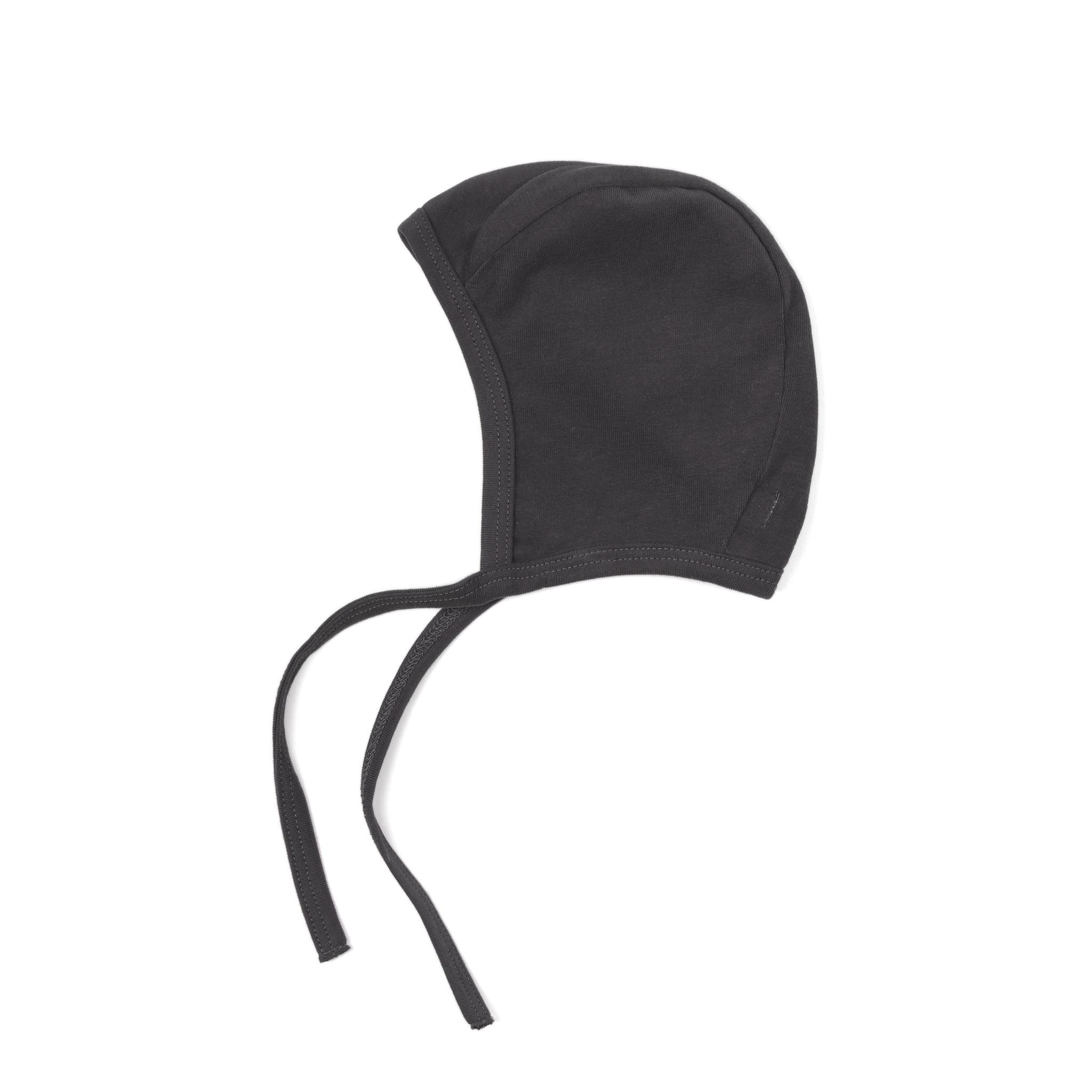 Baby bonnet - Graphite-1