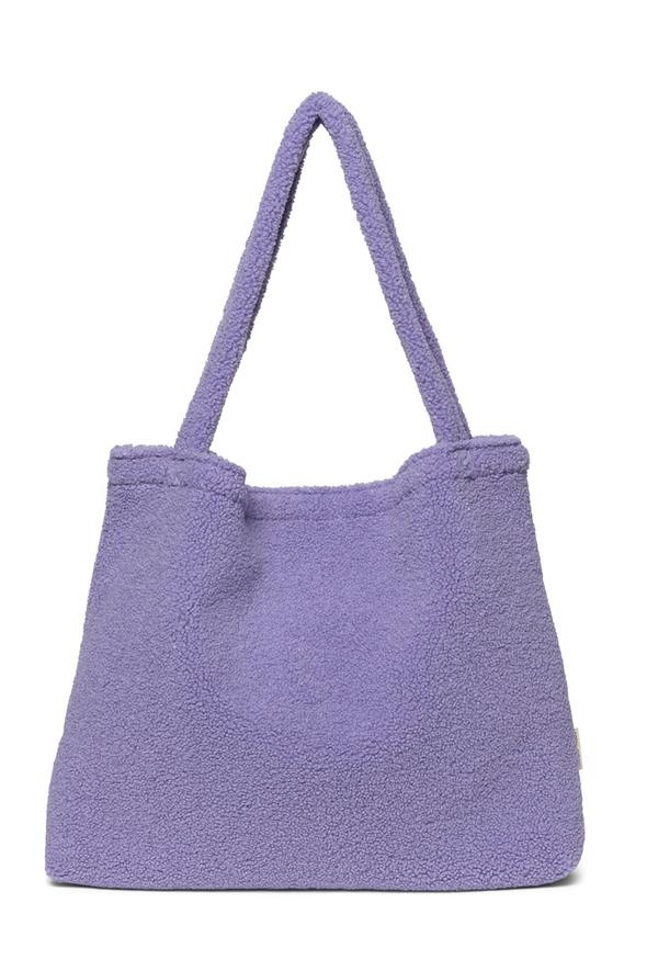 Pastel lilac teddy mom-bag-1
