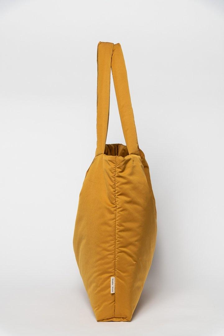 Ochre puffy mom-bag-3