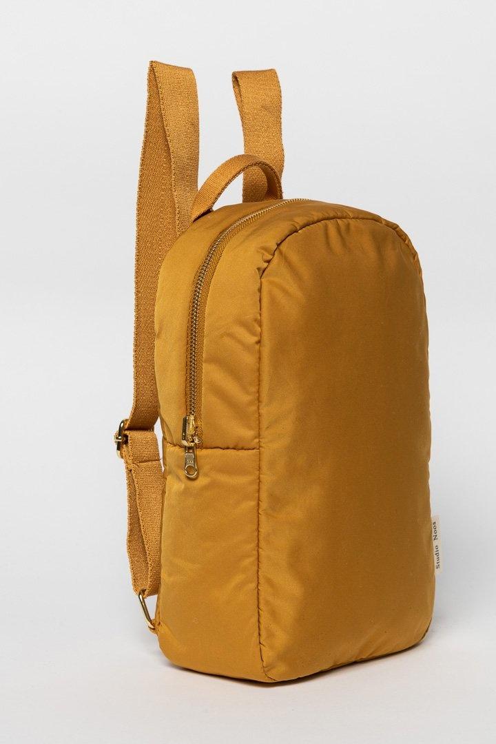 Ochre puffy backpack-2