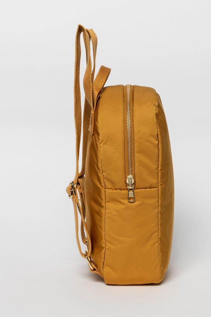 Ochre puffy backpack-3