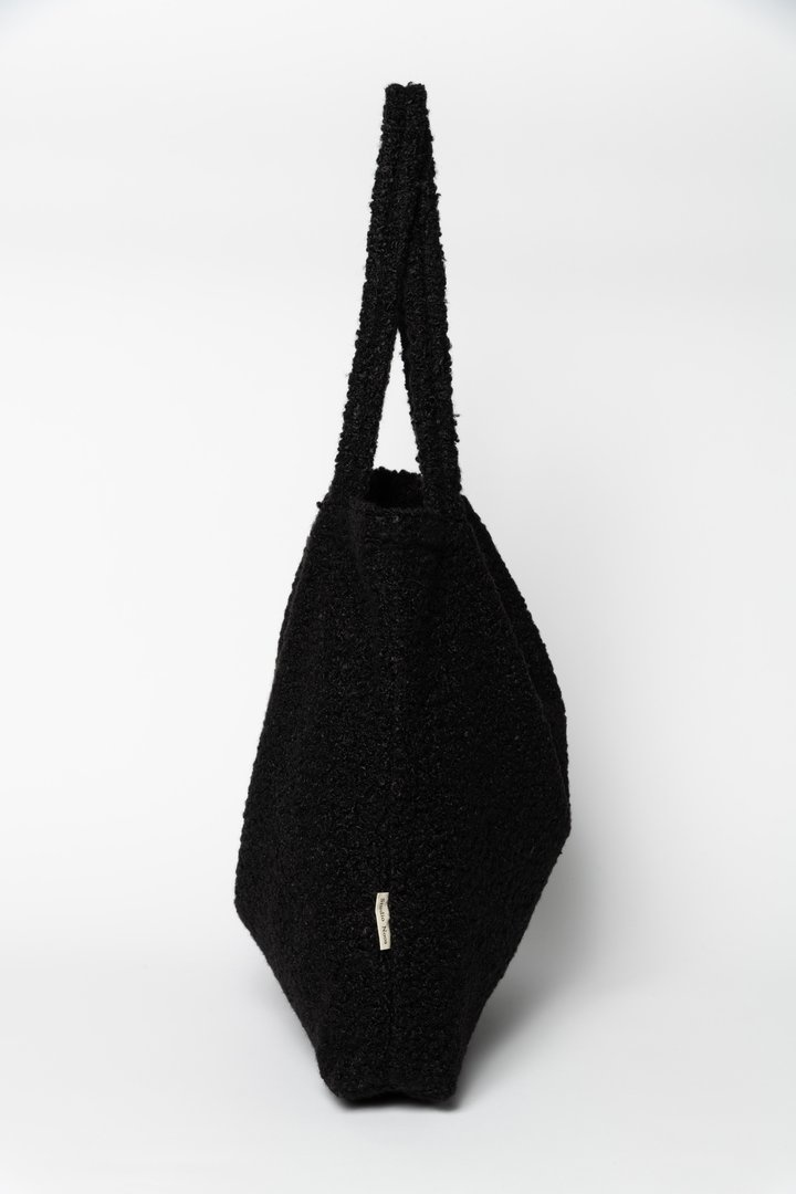 Black boucle mom-bag-2