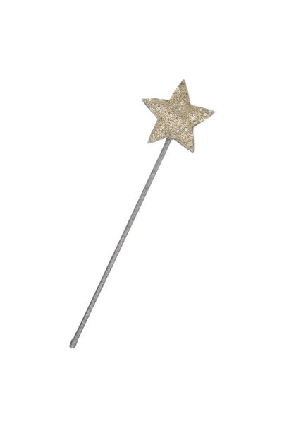 Glitter wand - gold
