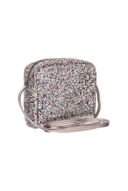 Mimi glitter cross body bag - hematite