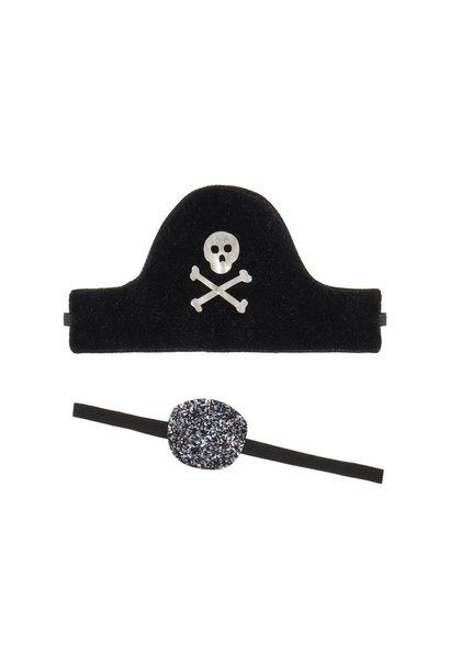 Pirate dress up set -  black