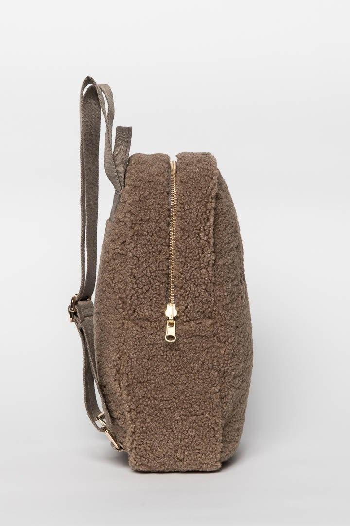 Noos mini Chunky Backpack brown-3