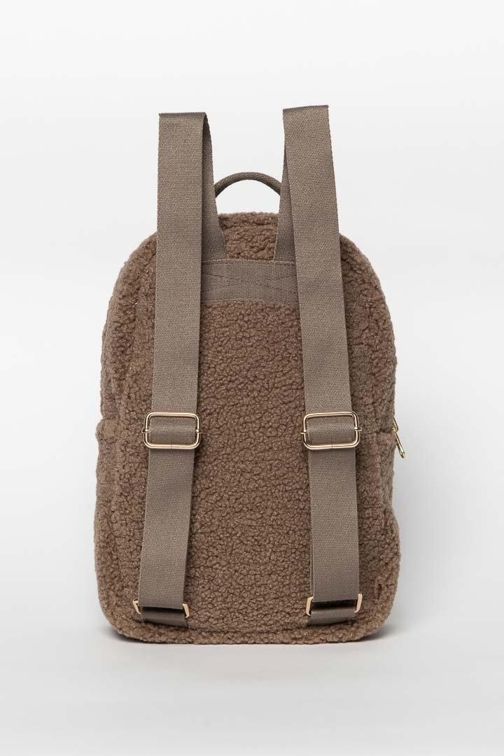 Noos mini Chunky Backpack brown-4