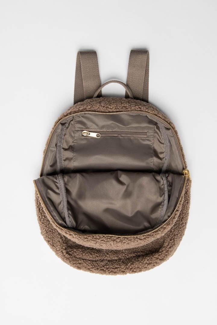 Noos mini Chunky Backpack brown-5