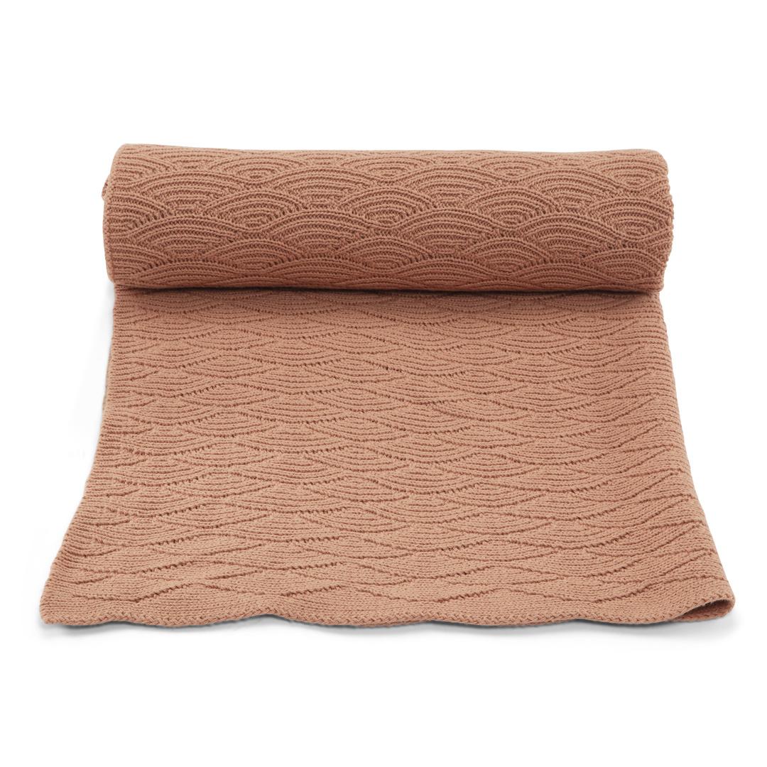 Pointelle Cotton Blanket-1