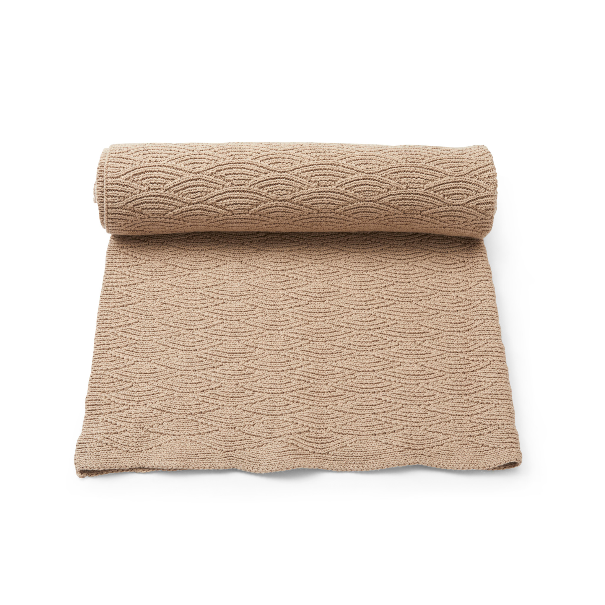 Pointelle Cotton Blanket-3