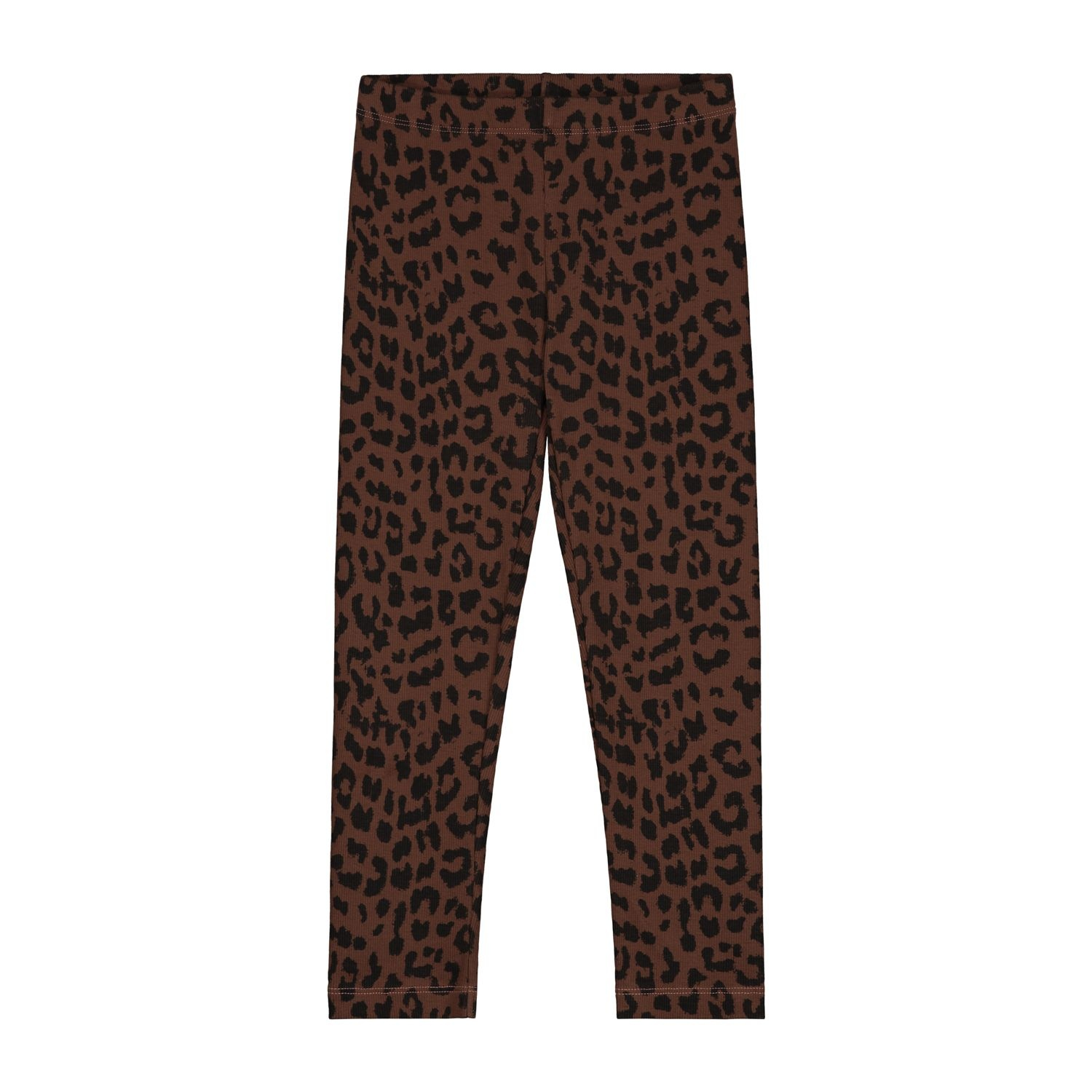Leopard pants hickory brown-1