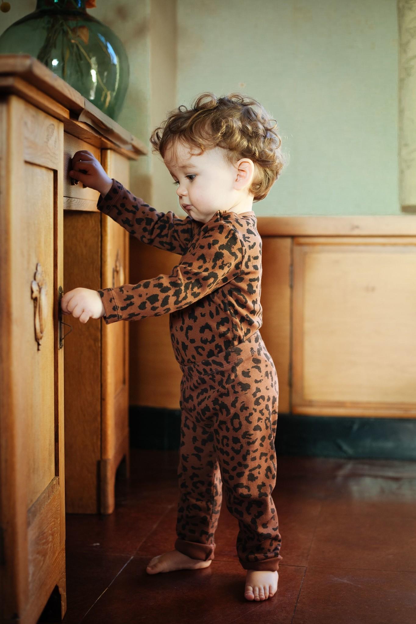 Leopard bodysuit hickory brown-2