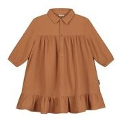 Lilyan dress hazel brown-1