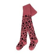 Heart tights happy pink-1