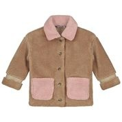 Parker teddy jacket camel-1