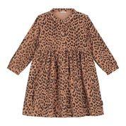 Brooke  leopard corduroy dress hazel-1