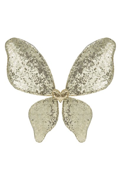 Sparkle Sequin Wings - Gold