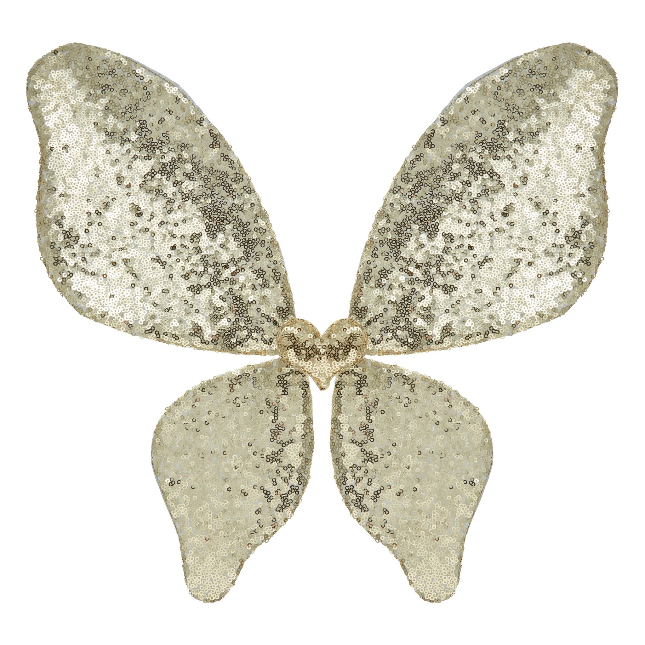 Sparkle Sequin Wings - Gold-1