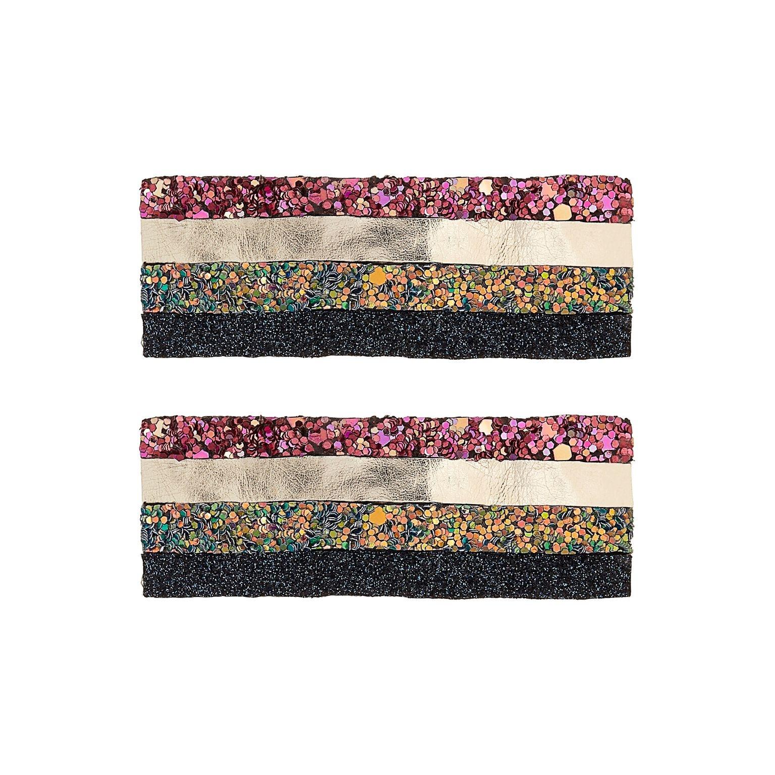 Rainbow Stripe Giant Clic Clac-1