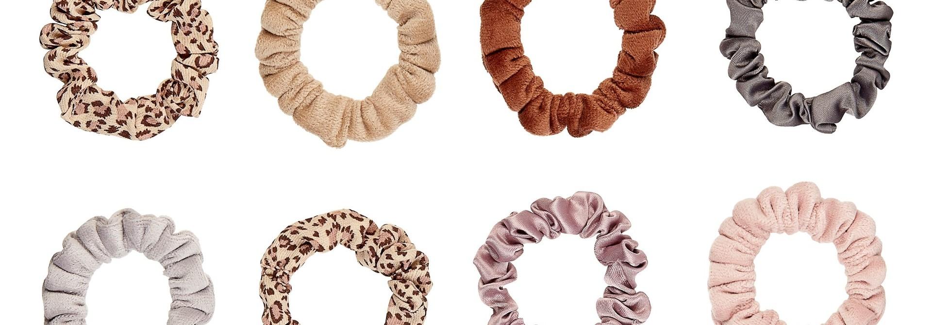 Leopard Mini Scrunchies