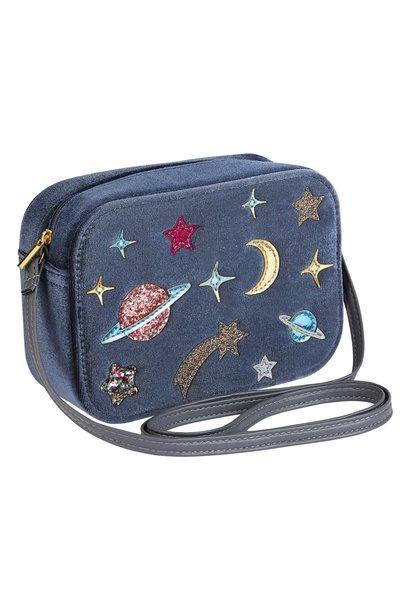Intergalactic Velvet Bag