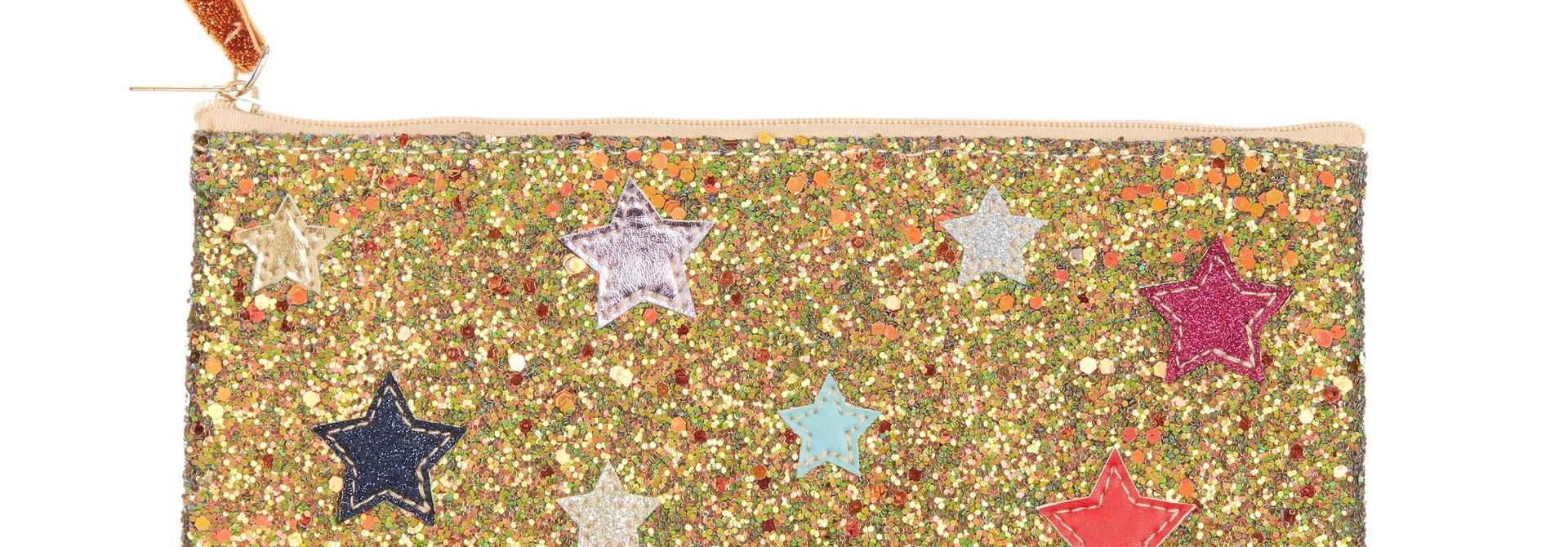 Galaxy Glitter Pencil Case