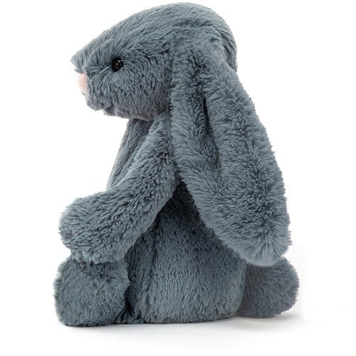 Medium Bashful Dusky Blue Bunny-2