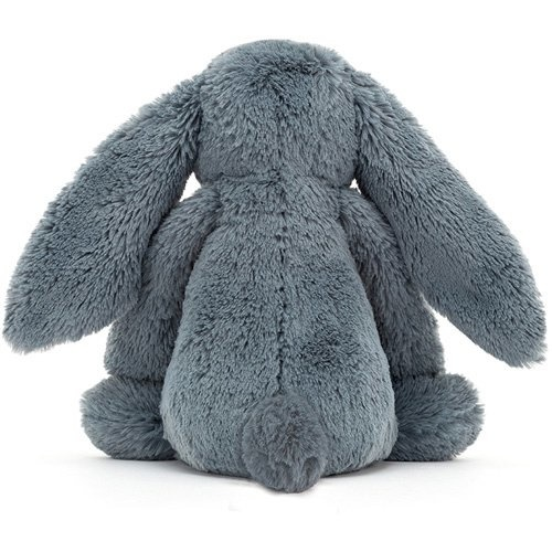Medium Bashful Dusky Blue Bunny-3