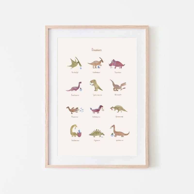 Poster Dinosaurs-1
