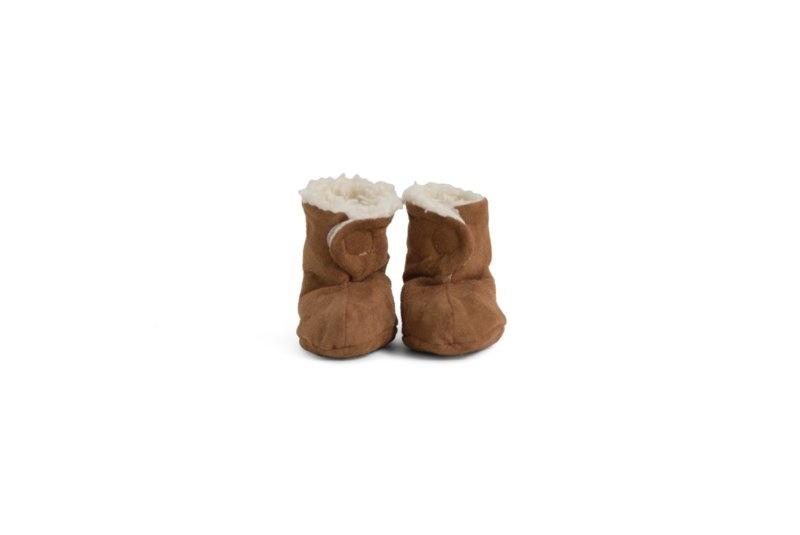 Newborn shoes 0-6M suede-teddy-2