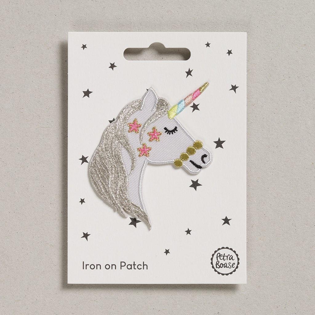 Opstrijk Patch Eenhoorn sterren-1