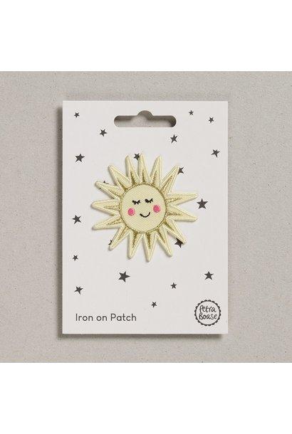 Opstrijk Patch Happy birthday zonneschijn