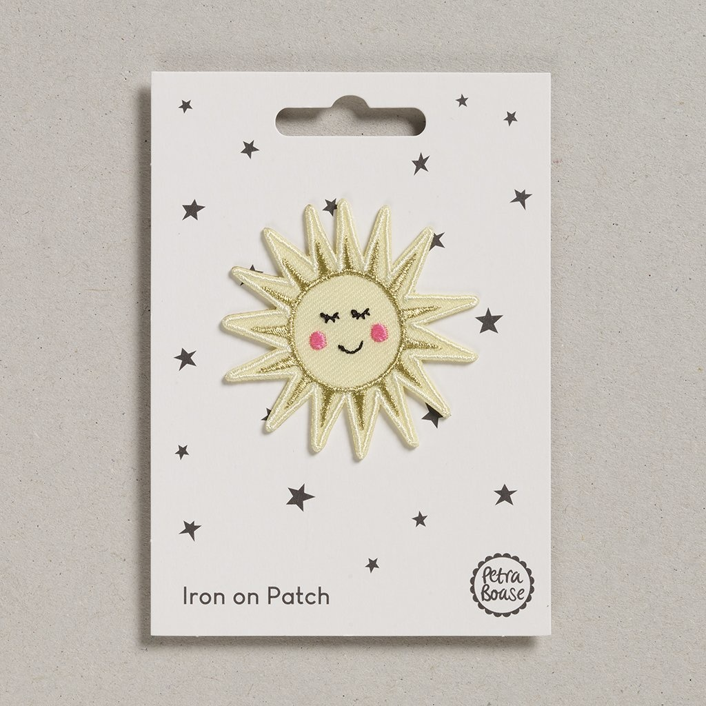 Opstrijk Patch Happy birthday zonneschijn-1