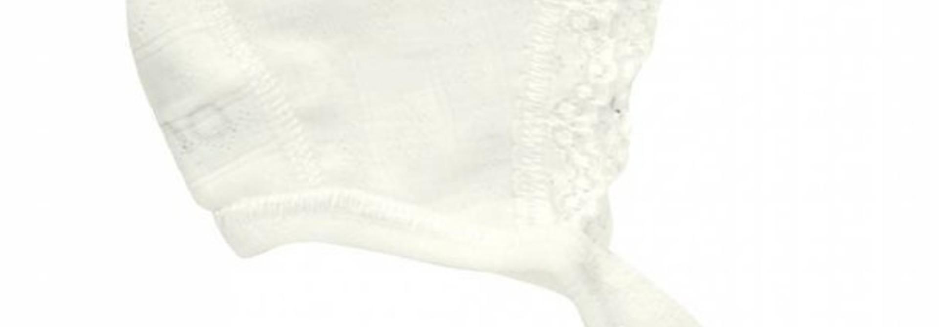 Strikmuts - Pointelle - Naturel