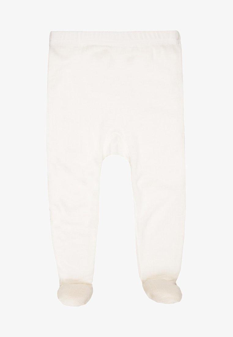Baby broekje met voet - merino wol-1