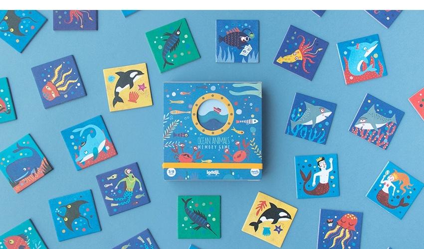 Memory Ocean Animals-2