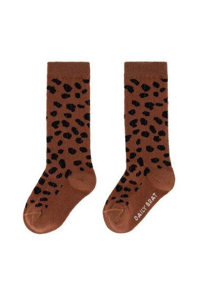 Mini socks  brownie