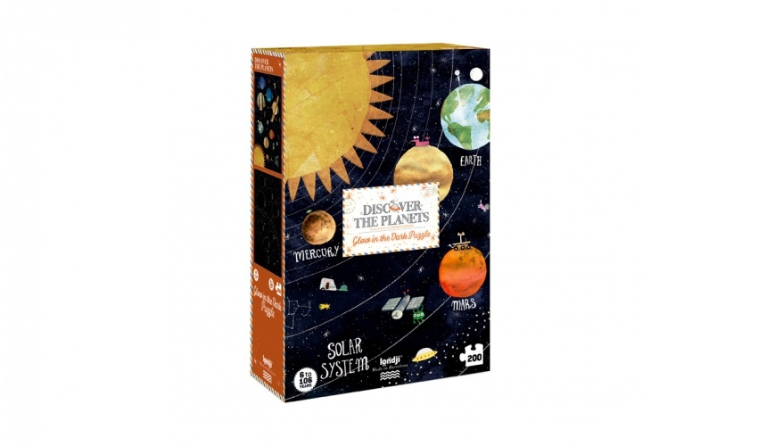 Puzzel Discover the Planets-1
