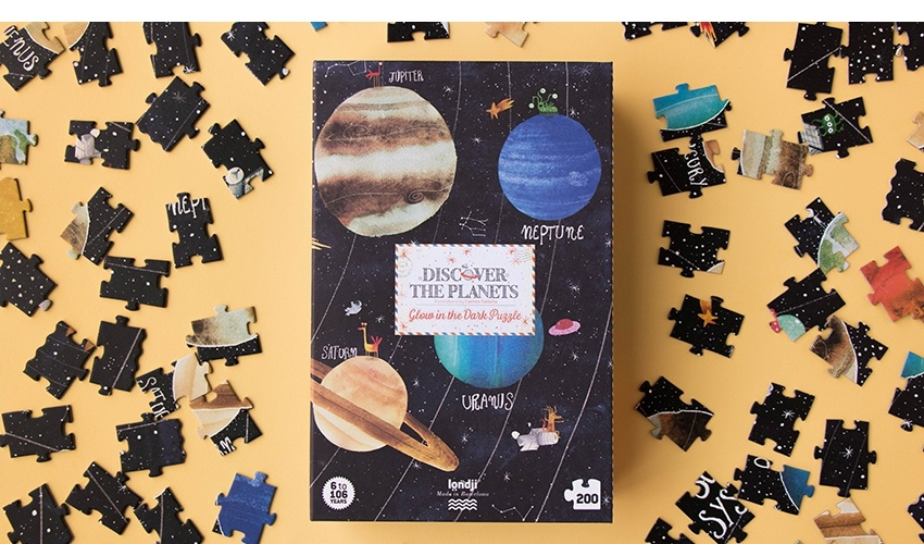 Puzzel Discover the Planets-2