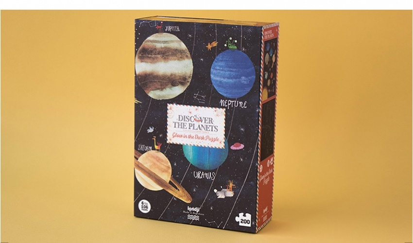 Puzzel Discover the Planets-4