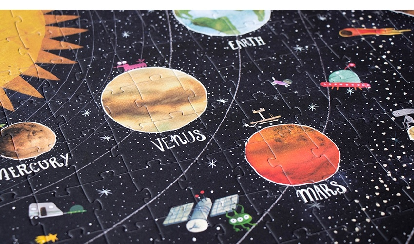 Puzzel Discover the Planets-5